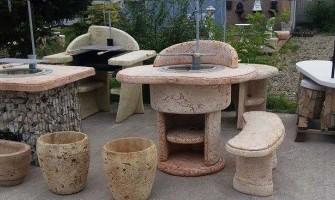 Grătare din beton pentru curte și gradina
