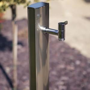 Coloană de apă de grădină, oțel inoxidabil
