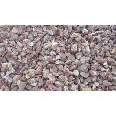 Piatră granulată bordo
