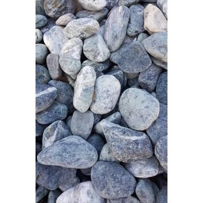 Piatră rotunjită verde