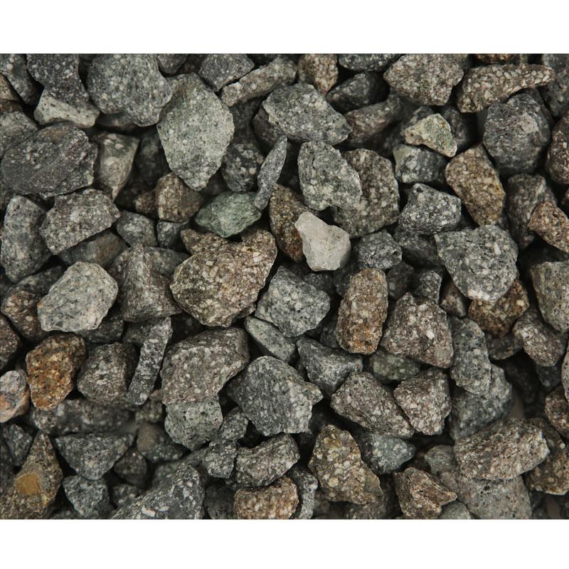 Piatră naturală granulată gri-piper