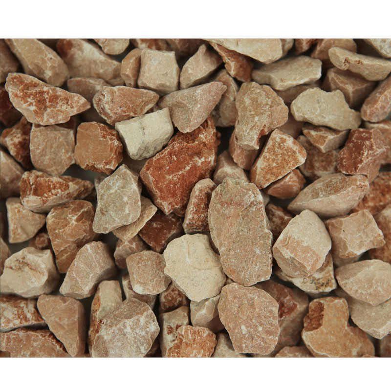 Piatră granulată roșu - cărămiziu