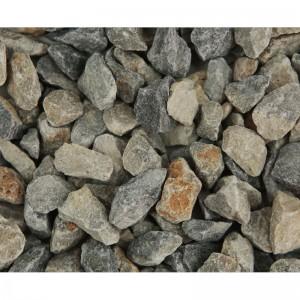 Piatră decorativă granulată gri-color