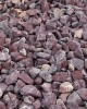 Piatră rotunjită bordo, 25 kg