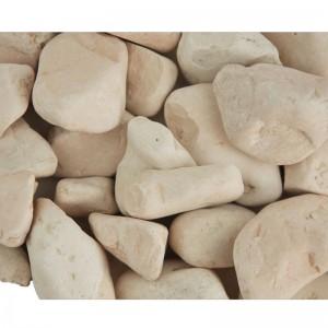 Piatră rotunjită roz, 25 kg