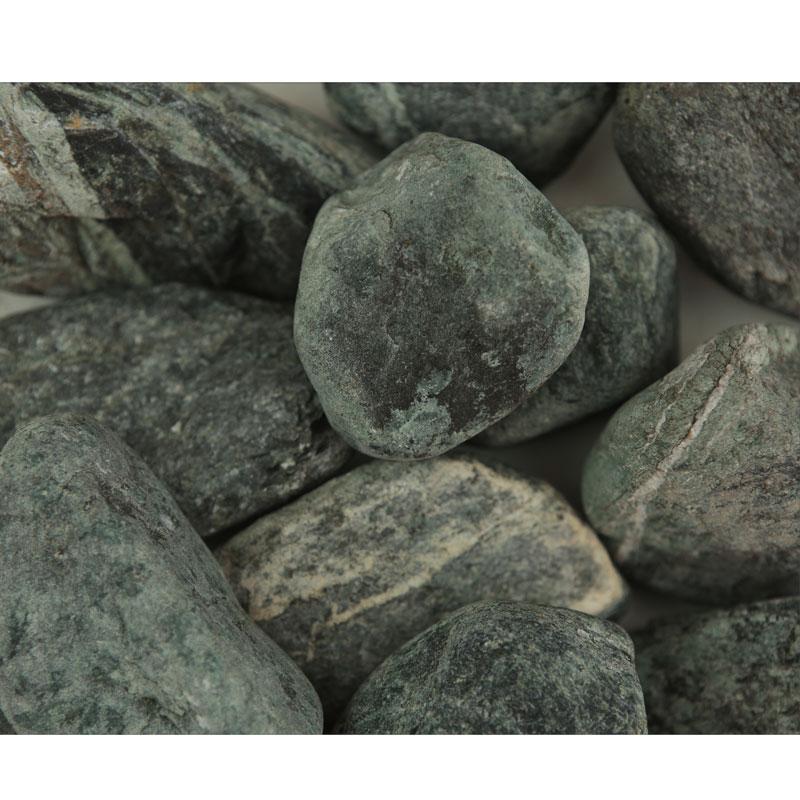Piatră rotunjită verde, 25 kg