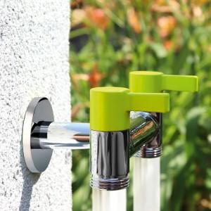 Robinet Eco de grădină dublu color