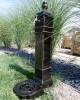 Cișmea grădină și curte Cora Cube, negru-auriu
