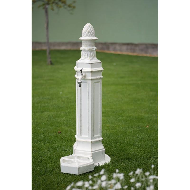 Cișmea grădină și curte Cora, alb