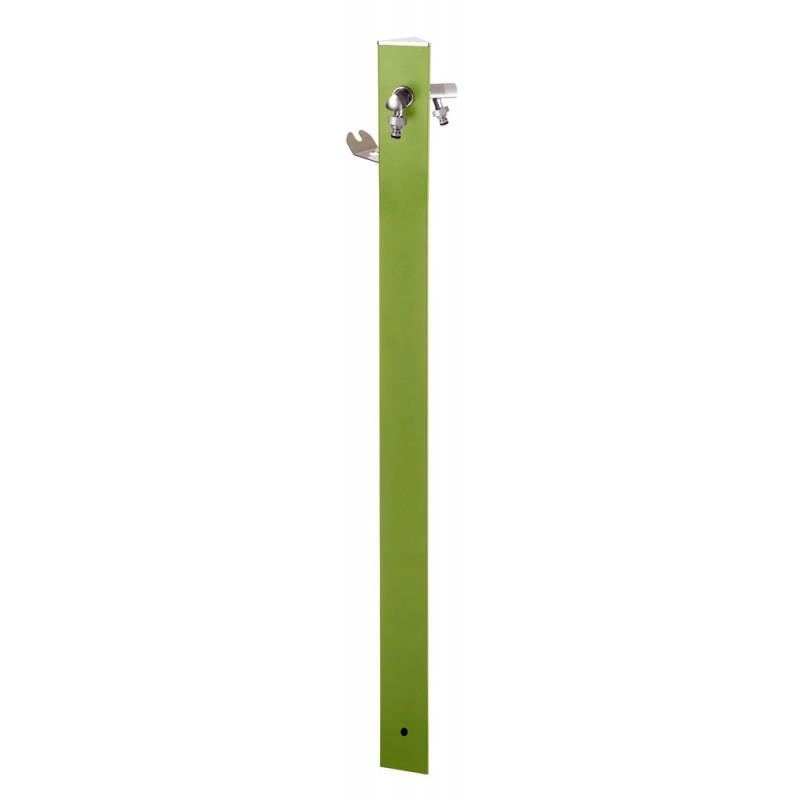 Fântâna tiunghiulară verde pastel