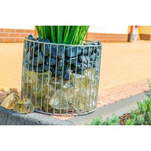 Jardinieră gabion cilindric