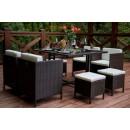 Set mobilier grădină ratan - Cristal