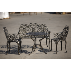 Set mobilier gradina  si terasa din aluminiu Klamen