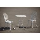 Set mobilier terasă și grădină din aluminiu Meda, alb